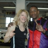 Marianne and Darren Hamilton at the TRAD TKO Gym 2014